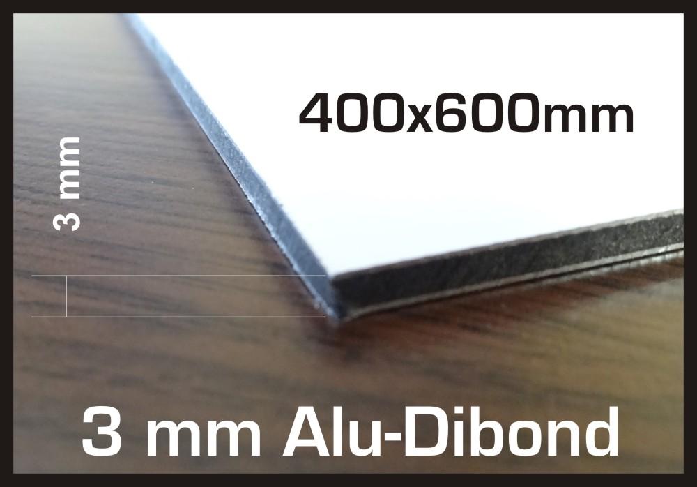 1x 40x60cm schild alu dibond aluminiumverbund 3mm wei unbedruckt neuware. Black Bedroom Furniture Sets. Home Design Ideas